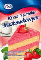Крем для торта с клубничным вкусом   Emix Польша 100г