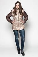 Демисезонная женская куртка LeveL- 22 , бежевая (6цветов)