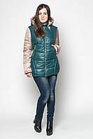 Демисезонная женская куртка LeveL- 22 , зелёная (6цветов)