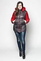 Демисезонная женская куртка LeveL- 22 , чёрная (6цветов)