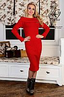 Женское платье облегающее платье-миди Лила-3