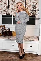 Женское платье облегающее платье-миди Лила-5