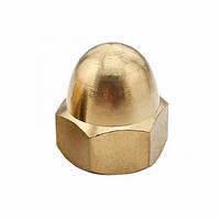 Гайка колпачная DIN 1587  М3, латунь