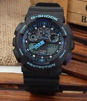 Мужские часы Casio G-Shock Ga 100 dark blue edition