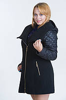 Пальто женское (8 цвета), больших размеров
