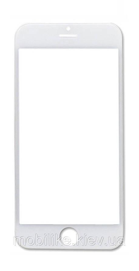 Скло сенсорного екрану для iPhone 5S біле