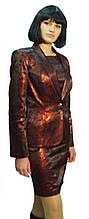 Костюм бордовый с напылением Арт.773 р.36,38,40