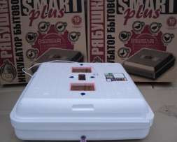 Інкубатор для яєць Рябушка Smart Plus - 150 аналоговий з механічним переворотом і інфрачервоним нагрівачем