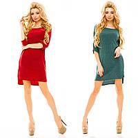 Женское теплое платье-туника ангора