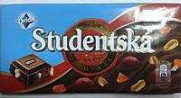 Шоколад Studentska Original Mlecna ( с арахисом , желе, изюмом) Студенческая печать 200 гр