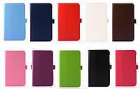 Кожаный чехол книжка для Asus FonePad 7 FE375CXG-1B004A (10 цветов)