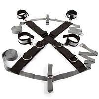 Крестообразная ременная система для фиксации к кровати Замри