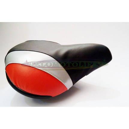 Седло широкое (красное), фото 2