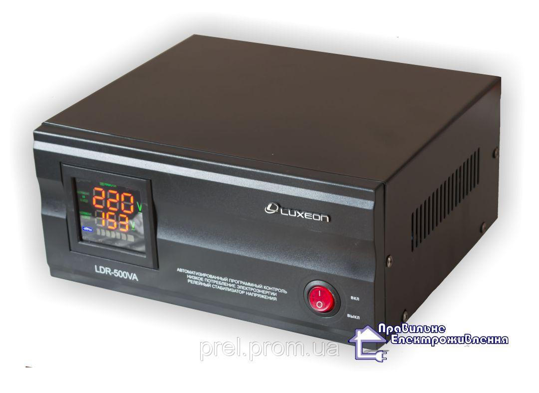 Стабілізатор напруги Luxeon LDR-500VA