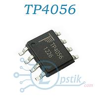 TP4056, контроллер питания, заряда аккумулятора, SOP8