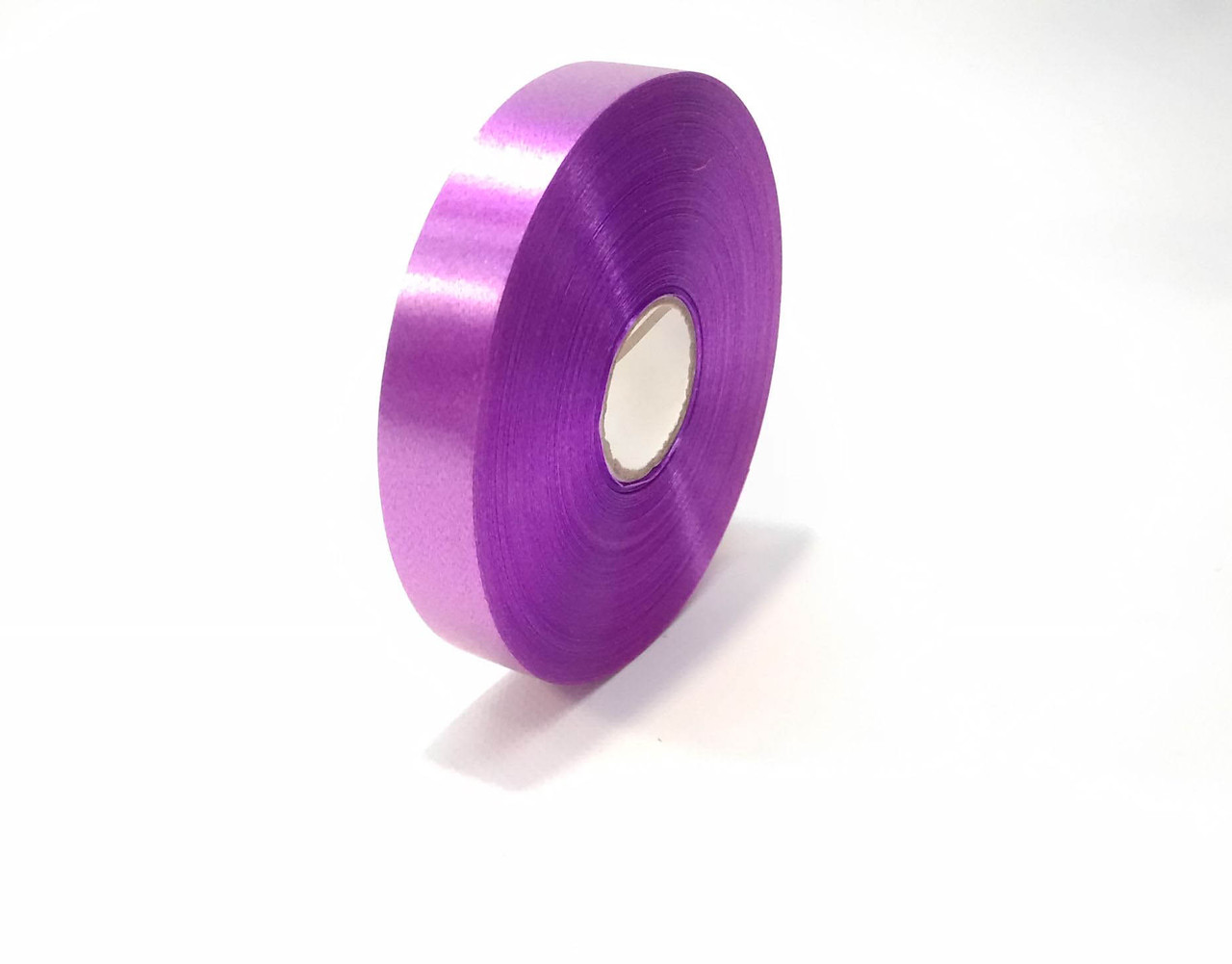 Лента декоративная  полипропиленовая  2 см фиолетовая флористическая
