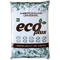 Субстрат торфяний ECO PLUS (універсальний 6л)