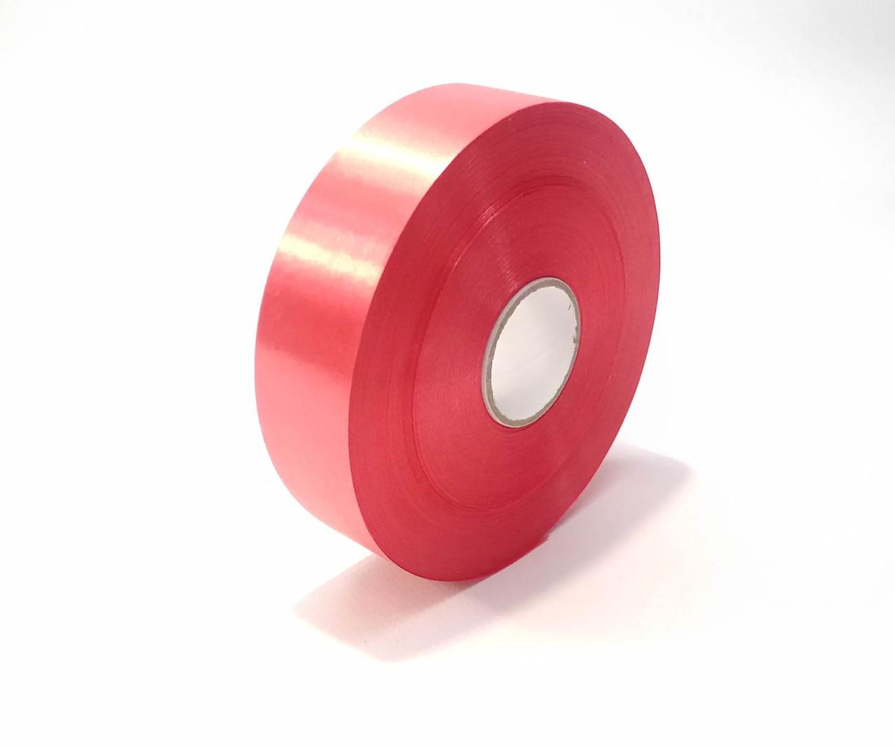 Лента полипропиленовая 3 см красная