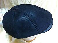 Кепка мужская чёрная из дубляжа