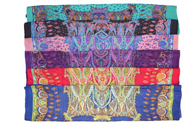 Платок Фелиция фиолетовый 5
