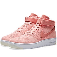 88a4fb95 Оригинальные кроссовки Nike W Air Force 1 Flyknit Bright Melon & White