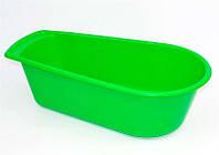 """Ванночка детская (10) - цвет зеленый """"K-PLAST"""""""