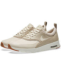 Оригинальные  кроссовки Nike W Air Max Thea Premium Oatmeal, Sail & Khaki
