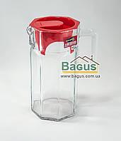 "Кувшин стеклянный 1,5 л Isfahan Glass ""Morvaried"" 713 (Иран)"