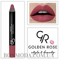Помада-карандаш матовая кремовая Golden Rose № 11, фото 1