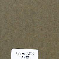Рулонные шторы Ткань Берлин Коричнево-серый А-828