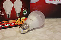Светодиодная лампа Maxus A60 10W 3000K E27 2шт акционная упаковка 2-LED-145-01
