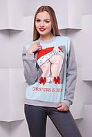 Christmas is sexy кофта Свитшот №2Д д/р