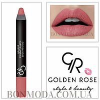 Матовая помада карандаш Golden Rose Matte Lipstick Crayon № 13
