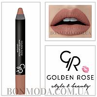Матовая помада карандаш Golden Rose Matte Lipstick Crayon № 14, фото 1