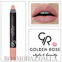 Матовая помада карандаш Golden Rose Matte Lipstick Crayon № 15, фото 1