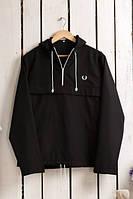 Анорак,ветровка,куртка черная размер S фред пери
