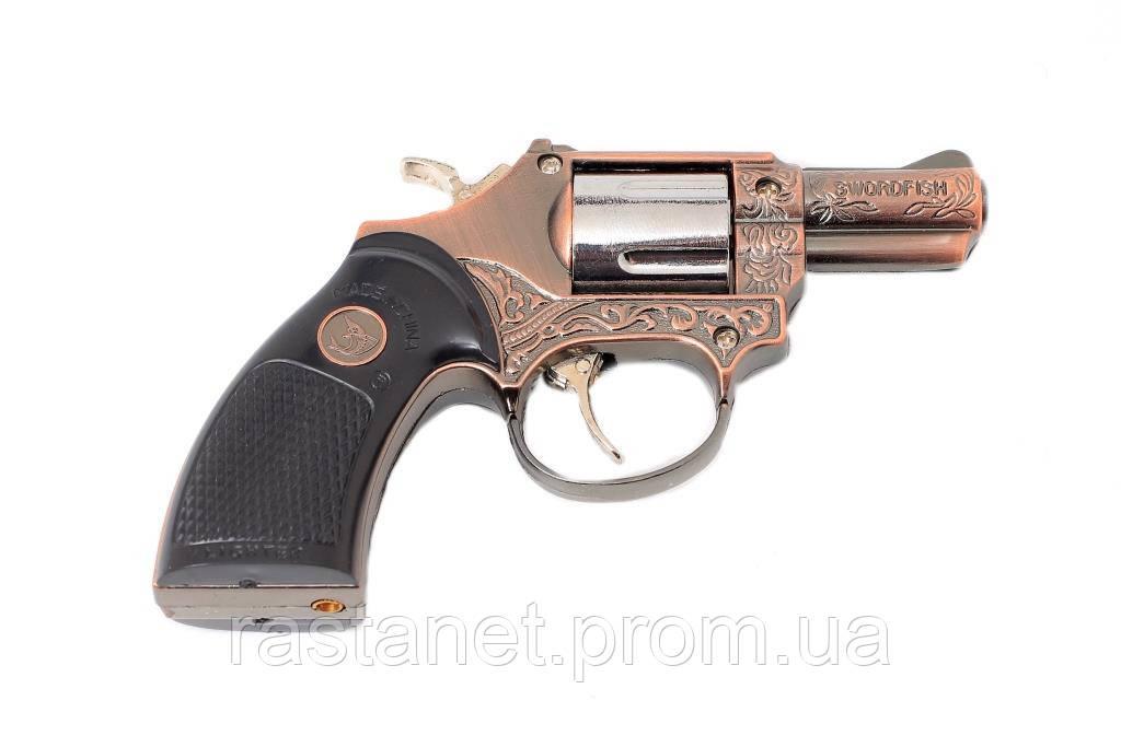 """Турбо-Зажигалка """"Револьвер"""""""