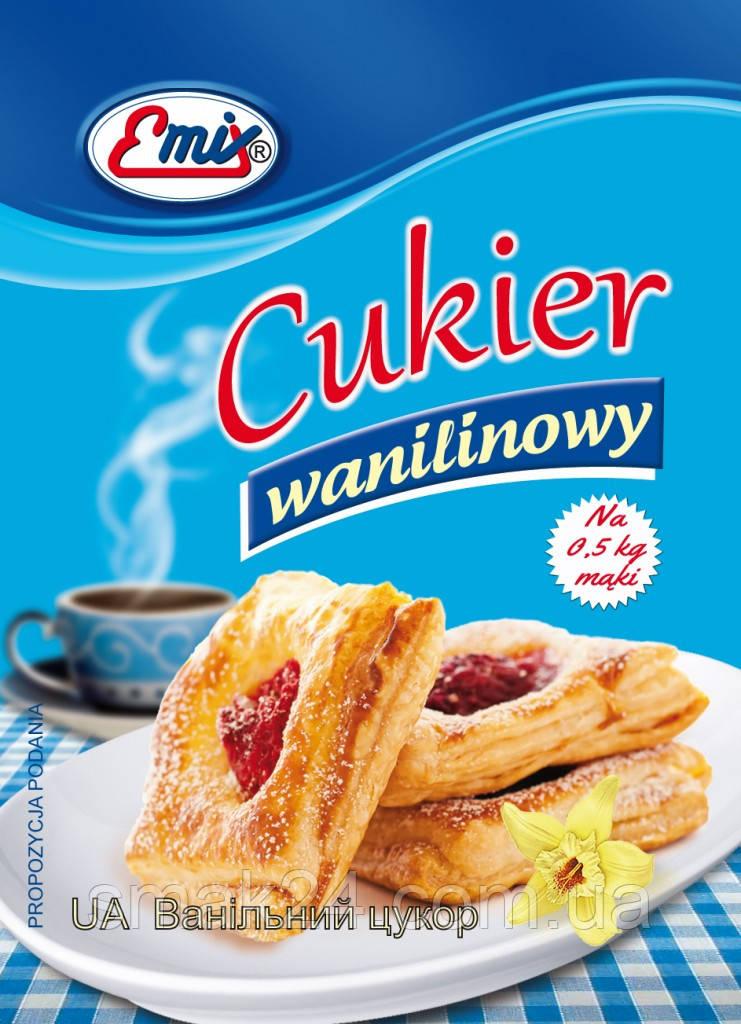 Сахар ванильный Emix Польша 16г