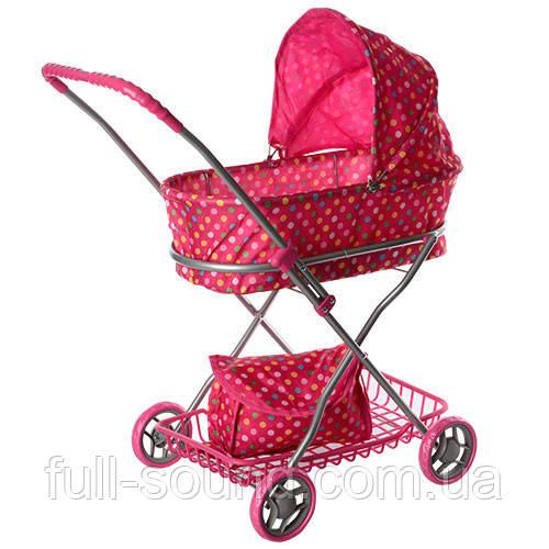 Детская коляска для кукол с маминой сумкой