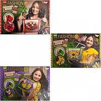 "Комплект для творчества Dankotoys ""Fashion Bag"" вышивка лентами"