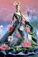 """Коллекционная кукла Барби """"Кувшинка"""" / Water Lily Barbie Doll Claude Monet Limited Edition (1997), фото 4"""