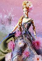 """Коллекционная кукла Барби """"Кувшинка"""" / Water Lily Barbie Doll Claude Monet Limited Edition (1997), фото 5"""