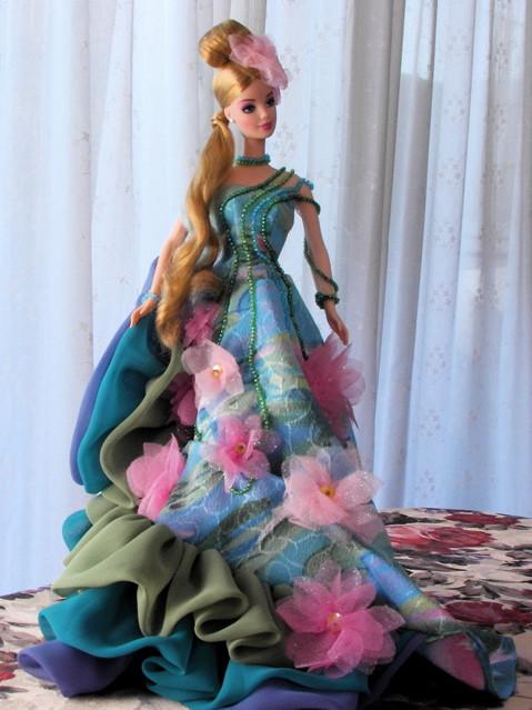 "Коллекционная кукла Барби ""Кувшинка"" / Water Lily Barbie Doll Claude Monet Limited Edition (1997)"