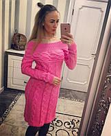 Новинка!!!  Красивое вязанное платье. Платья вязанные.Платья вязанные для девочек. Купить красивое теплое п .