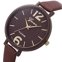 Часы женские с тонким ремешком Brown