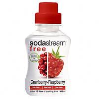 SodaStream сироп FREE Малина-клюква (Cranberry-Raspberry) 500 мл.