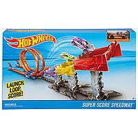 "Игровой трек Хот Вилс ""Суперскоростная трасса"", Hot Wheels Hot Wheels Double Loop Attack Track Set"