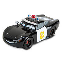 "Cars Lightning McQueen Police Die Cast Car (Молния МакКуин Полицейский из мультфильма ""Тачки""), фото 1"