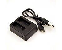 Зарядное устройство BC-SJ4000C на 2 аккумулятора для SJcam - SJ4000, SJ5000, SJ5000 Wi-Fi, SJ5000X, M10