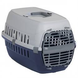 Moderna МОДЕРНА РОУД-РАННЕР 1 переноска для собак и кошек. с металлической дверью IATA, 51х31х34 см, кобальт с